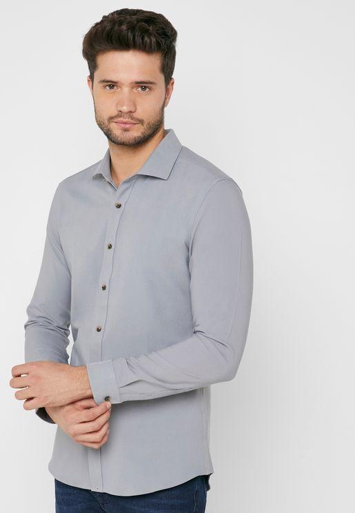 Plain Smart Shirt