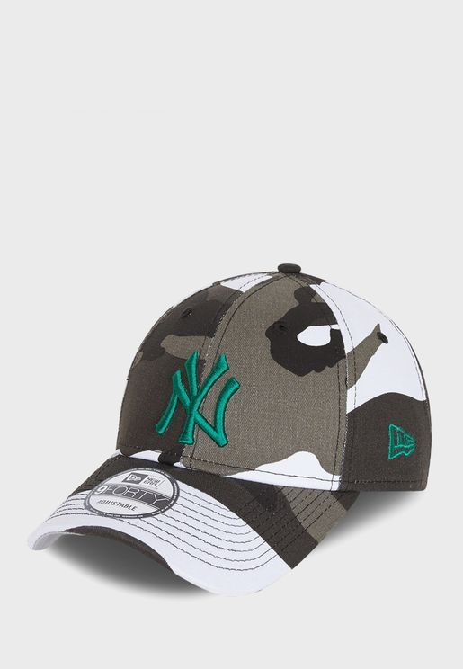 9Forty New York Yankees Camo Cap