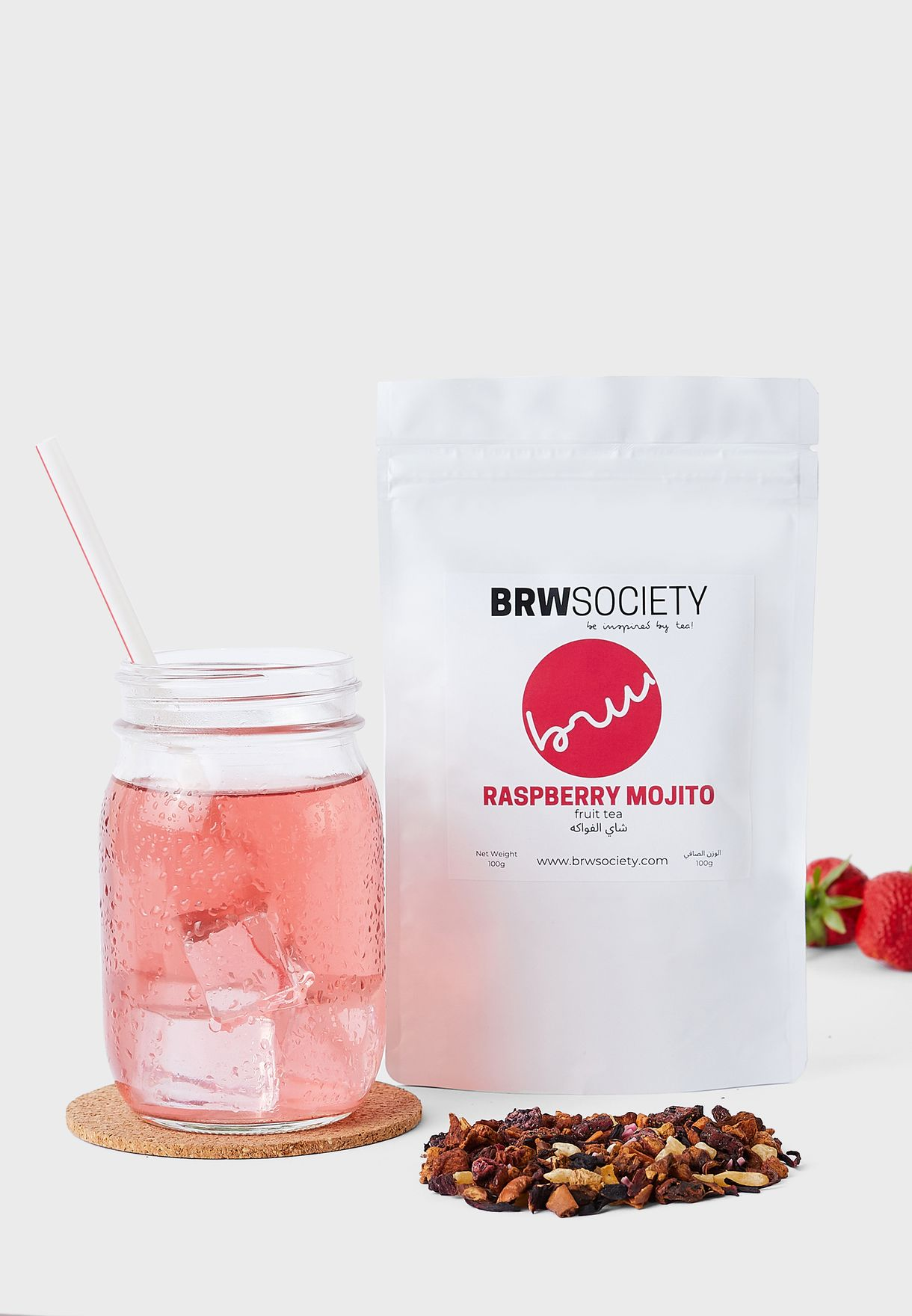 Fruit Tea Blend - Raspberry Mojito