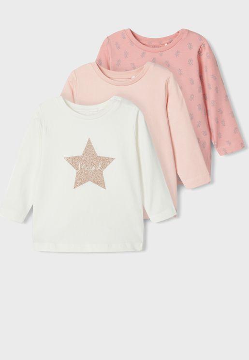 Infant 3 Pack T-Shirt