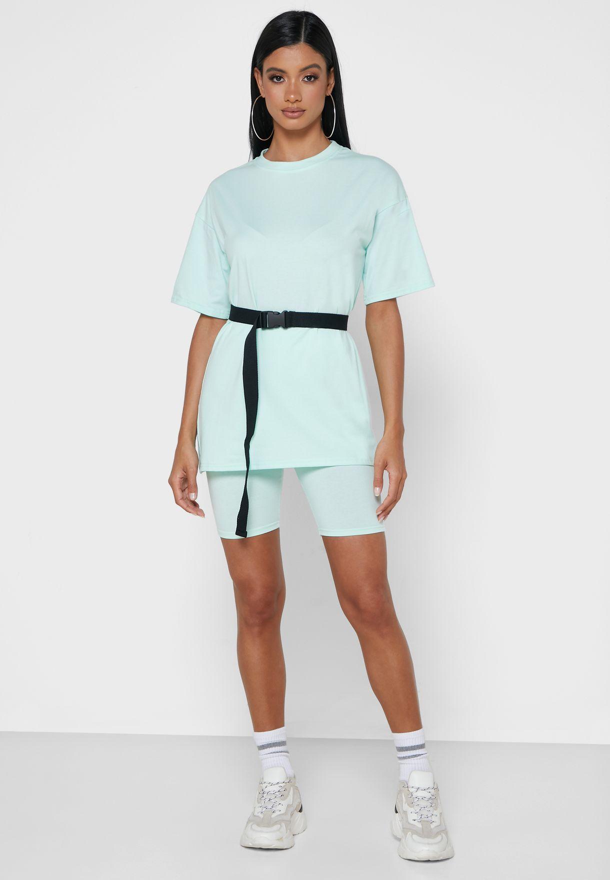Oversized Tee & Shorts Set