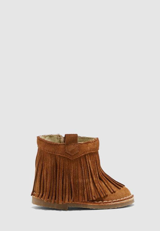 Kids Tassel Detail Boot