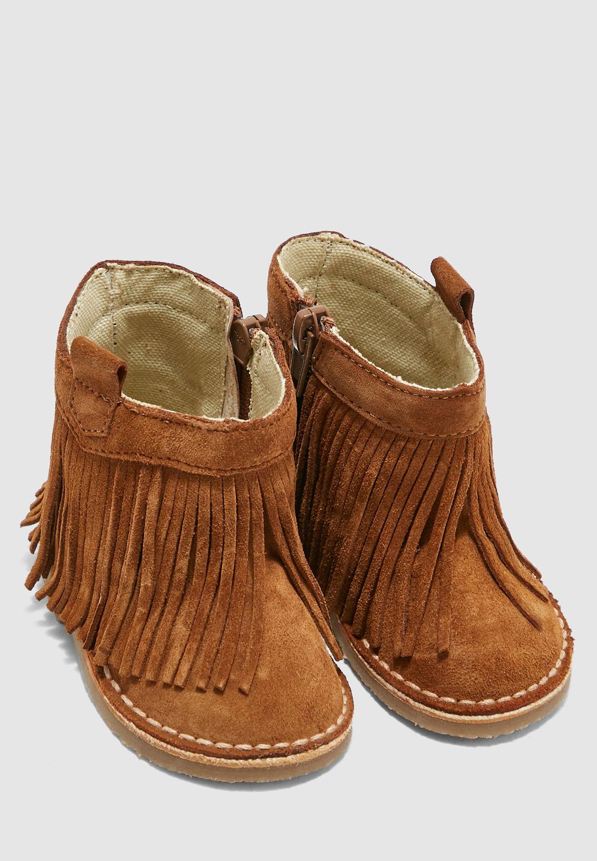 Kids Tassel Detail Boot