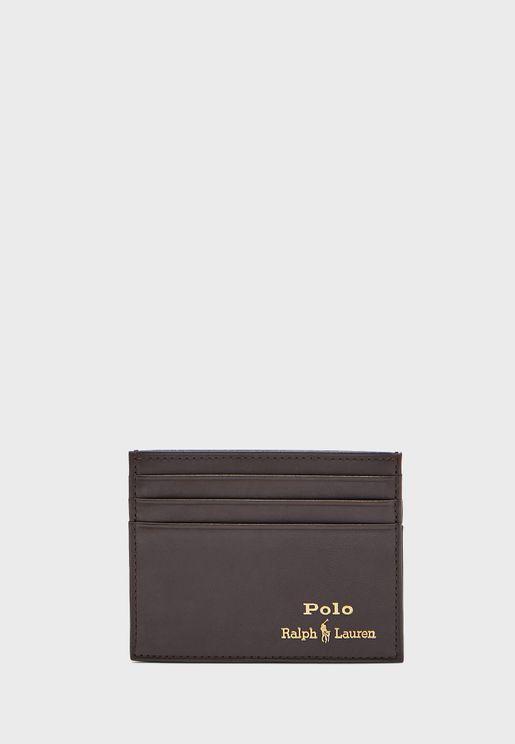 حافظة بطاقات جلد اصلي