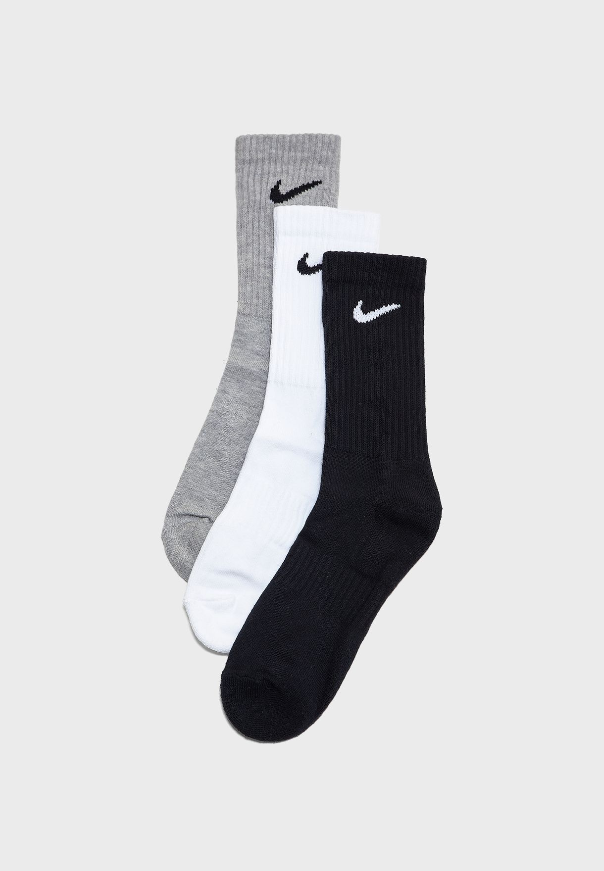 3 Pack Cushion Crew Socks