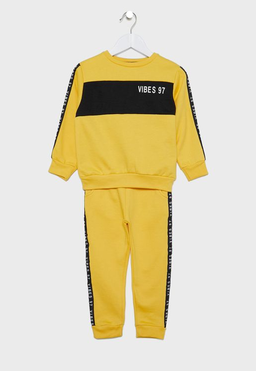 Little Vibes Tracksuit
