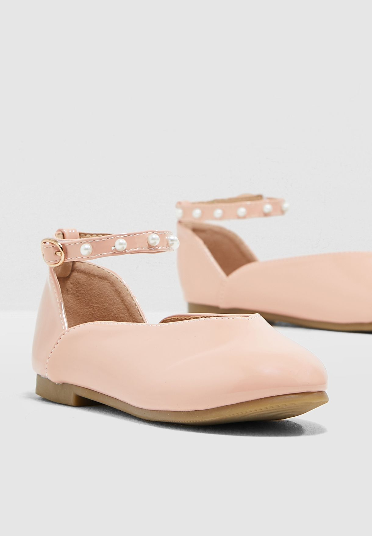 Ankle Strap Ballerina