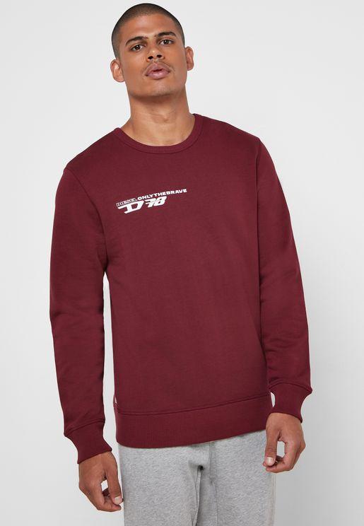Willy Shoulder Stripe Sweatshirt
