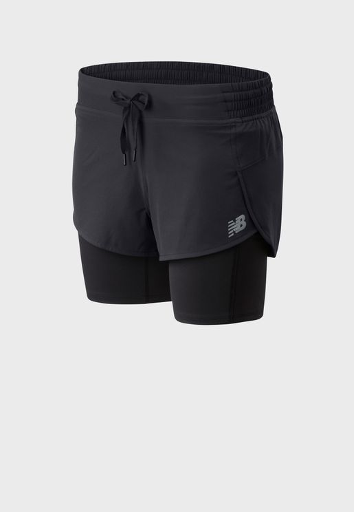 Impact Run 2In1 Shorts