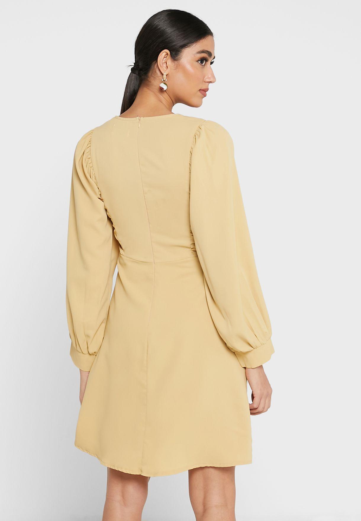 Bishop Sleeve Dress