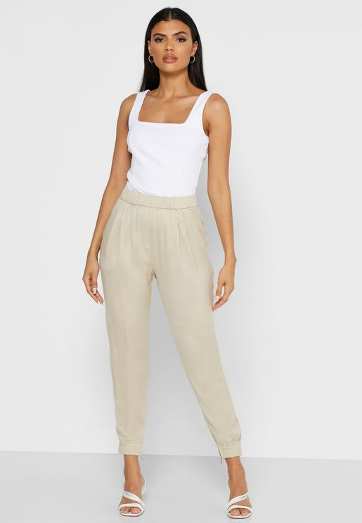 Sofie Pleated Detail Joggers