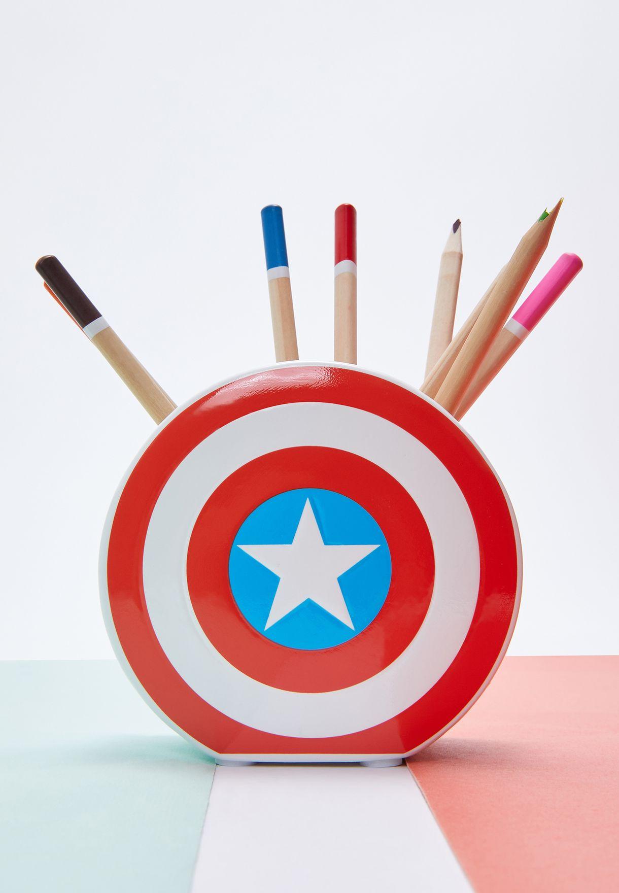 Captain America Stationery Pot
