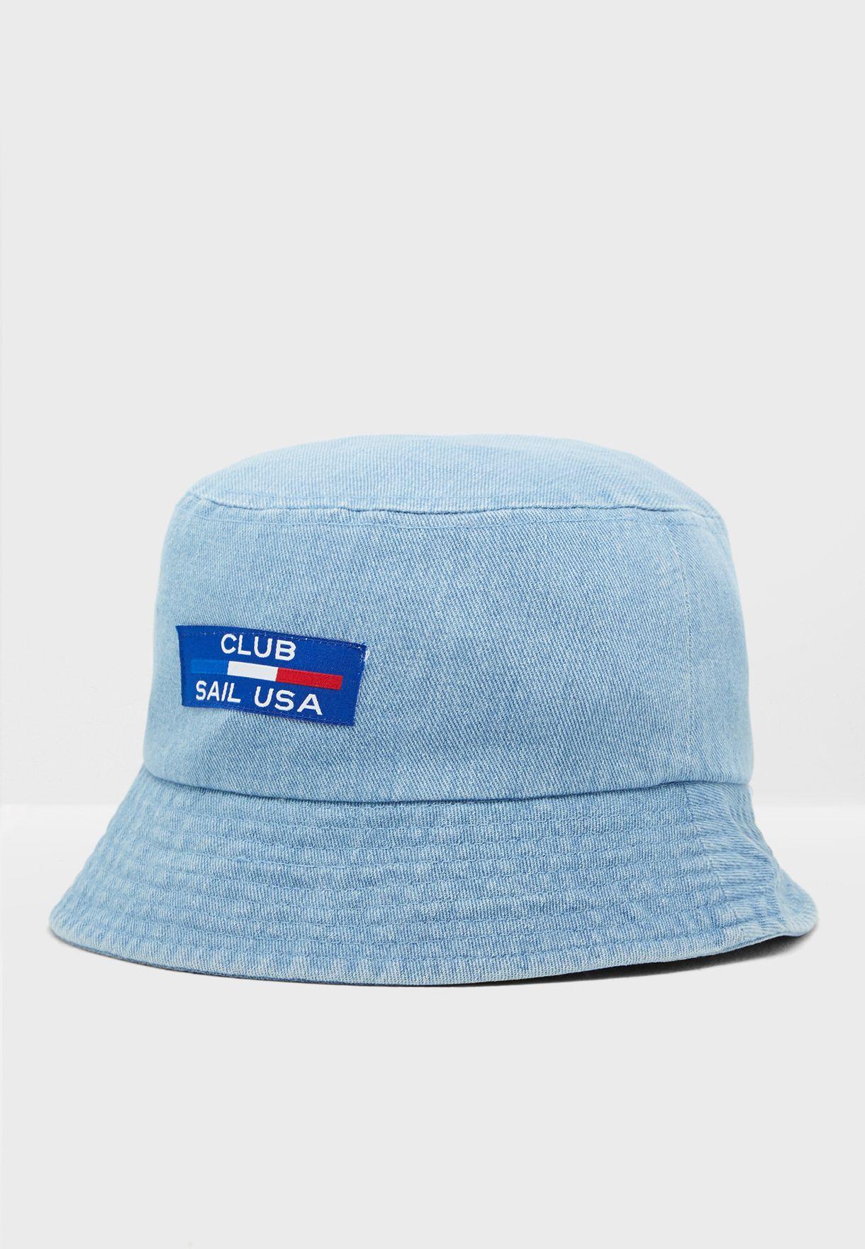 Buy Forever 21 Blue Fashion Letter Fisherman Hat For Women In Mena Worldwide 339337