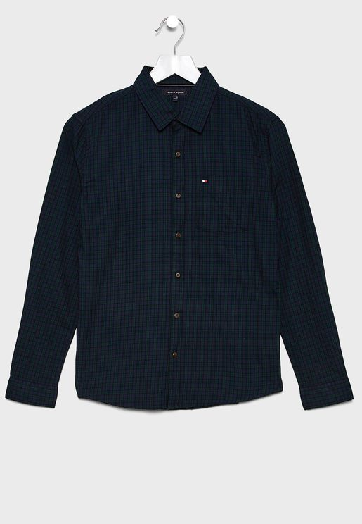 Kids Small Checked Shirt