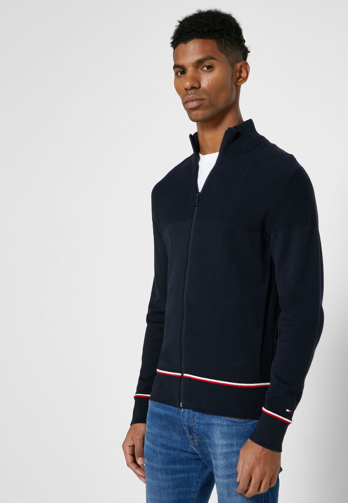 Essential Zip Through Sweatshirt