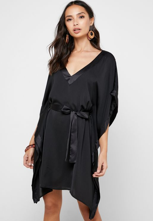 Tie Waist Cover Up