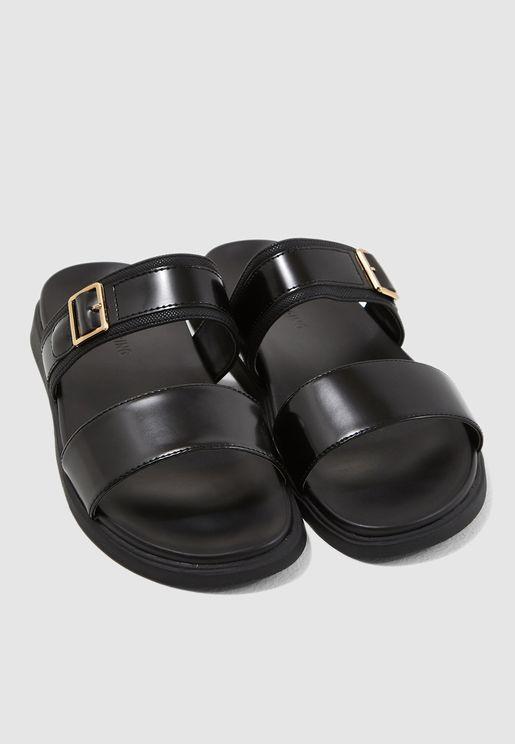 0803a45d96e6 Mireirwen Double Strap Sandals