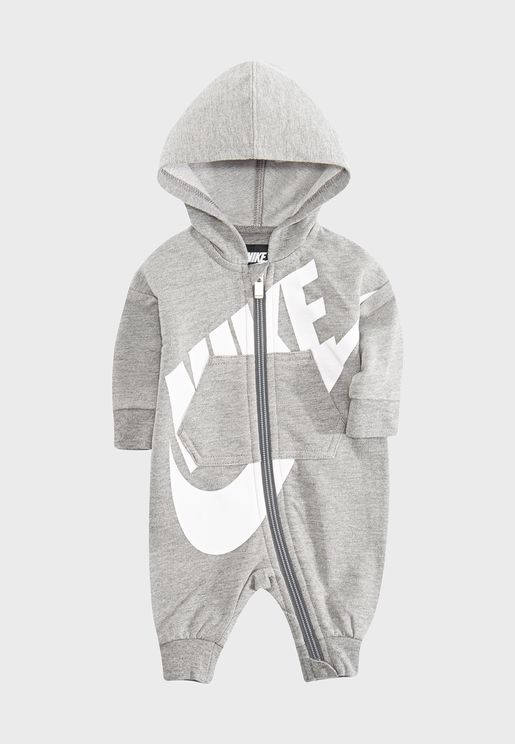 Infant All Day Play Hooded Romper