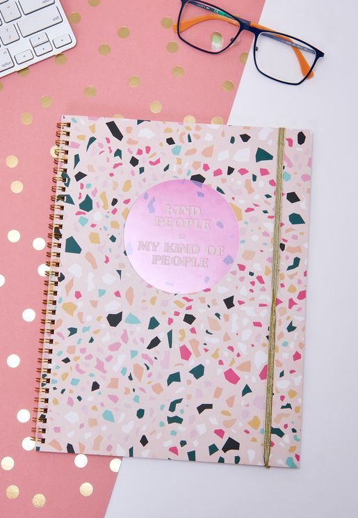 A4 Kind People Notebook