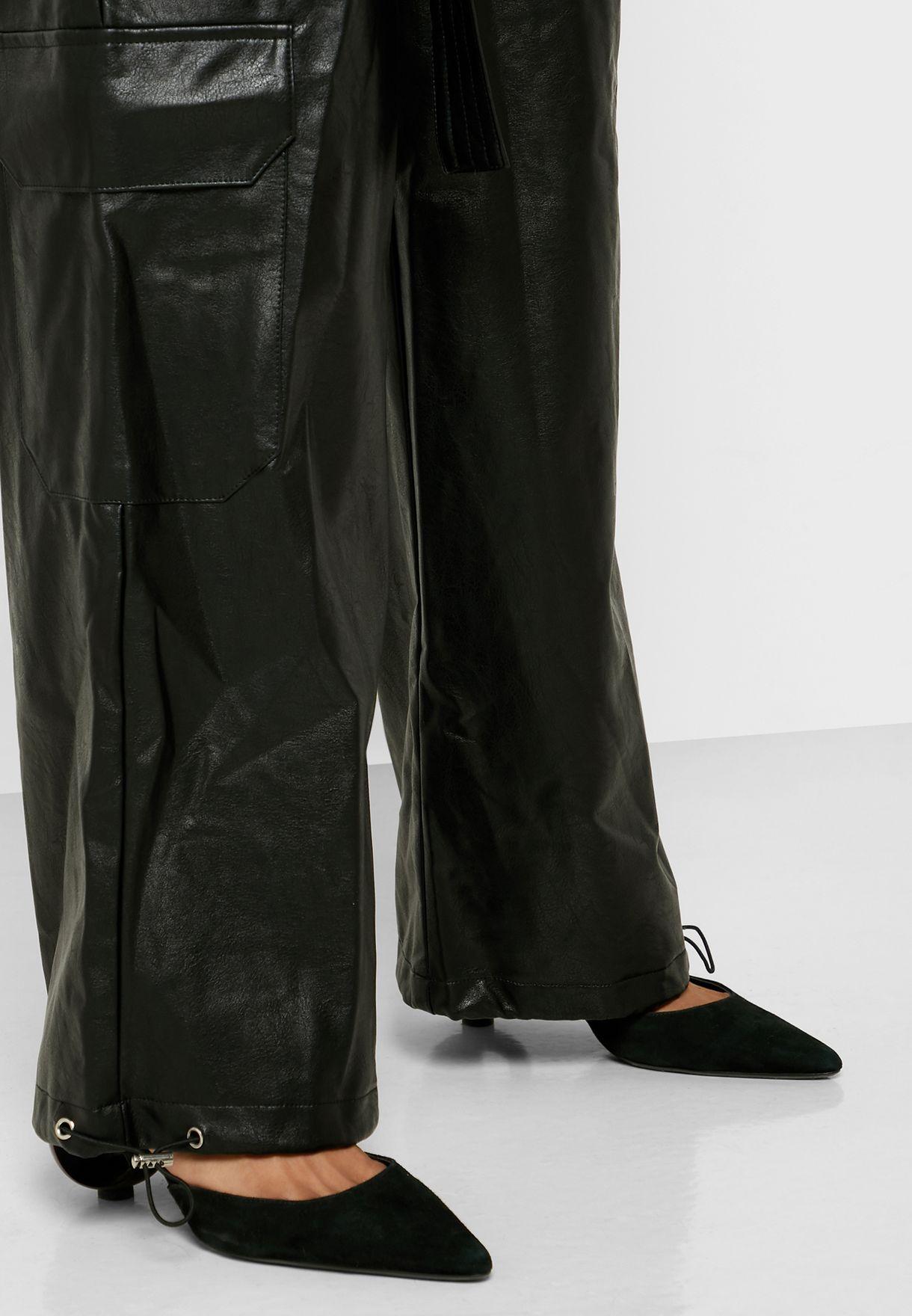 اوفرول طويل (جمبسوت) باربطة خصر