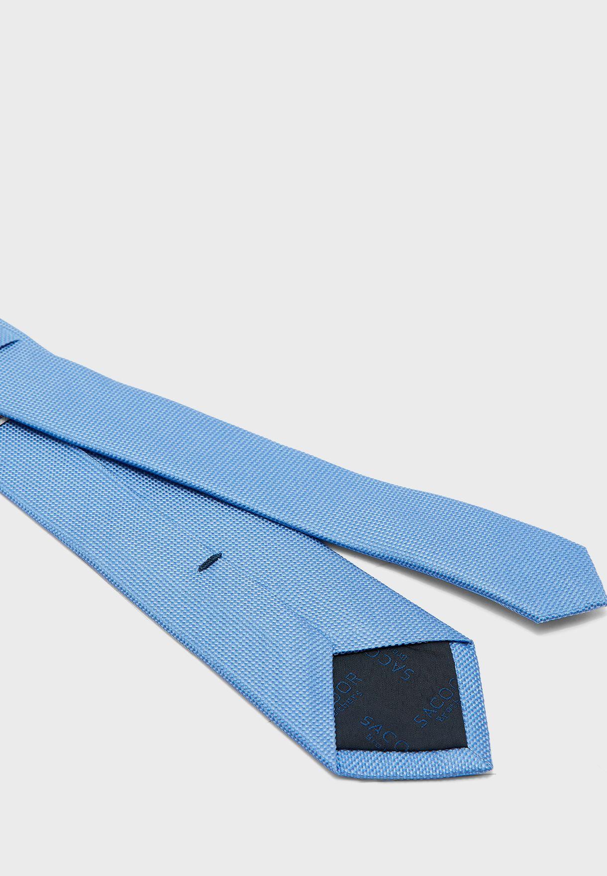 ربطة عنق حرير خالص