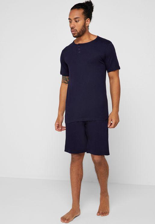 Pyjama Shorts Set