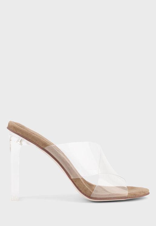 Acetic High Heel Sandal