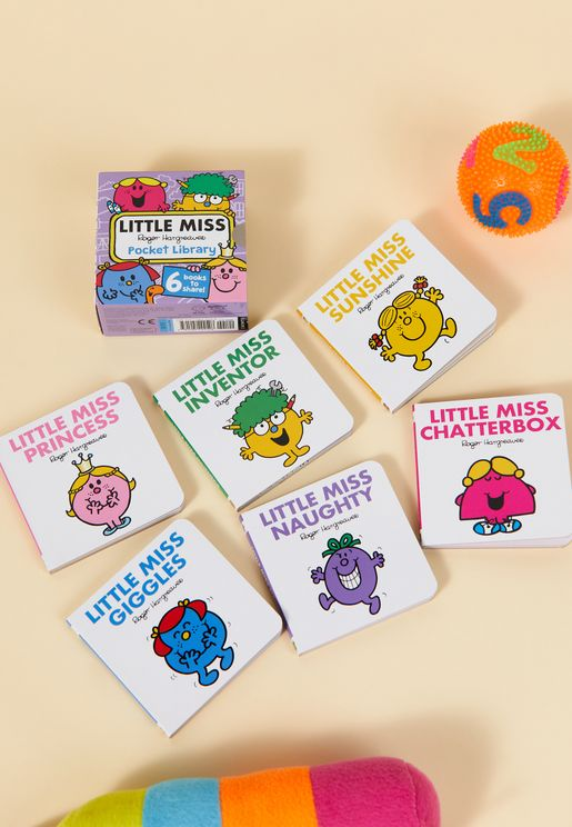 Pocket Library Little Miss