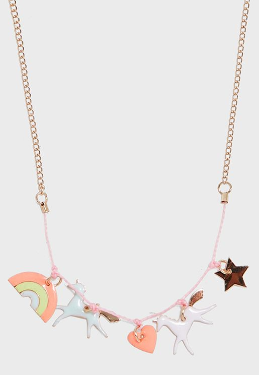 Kids Charm Necklace