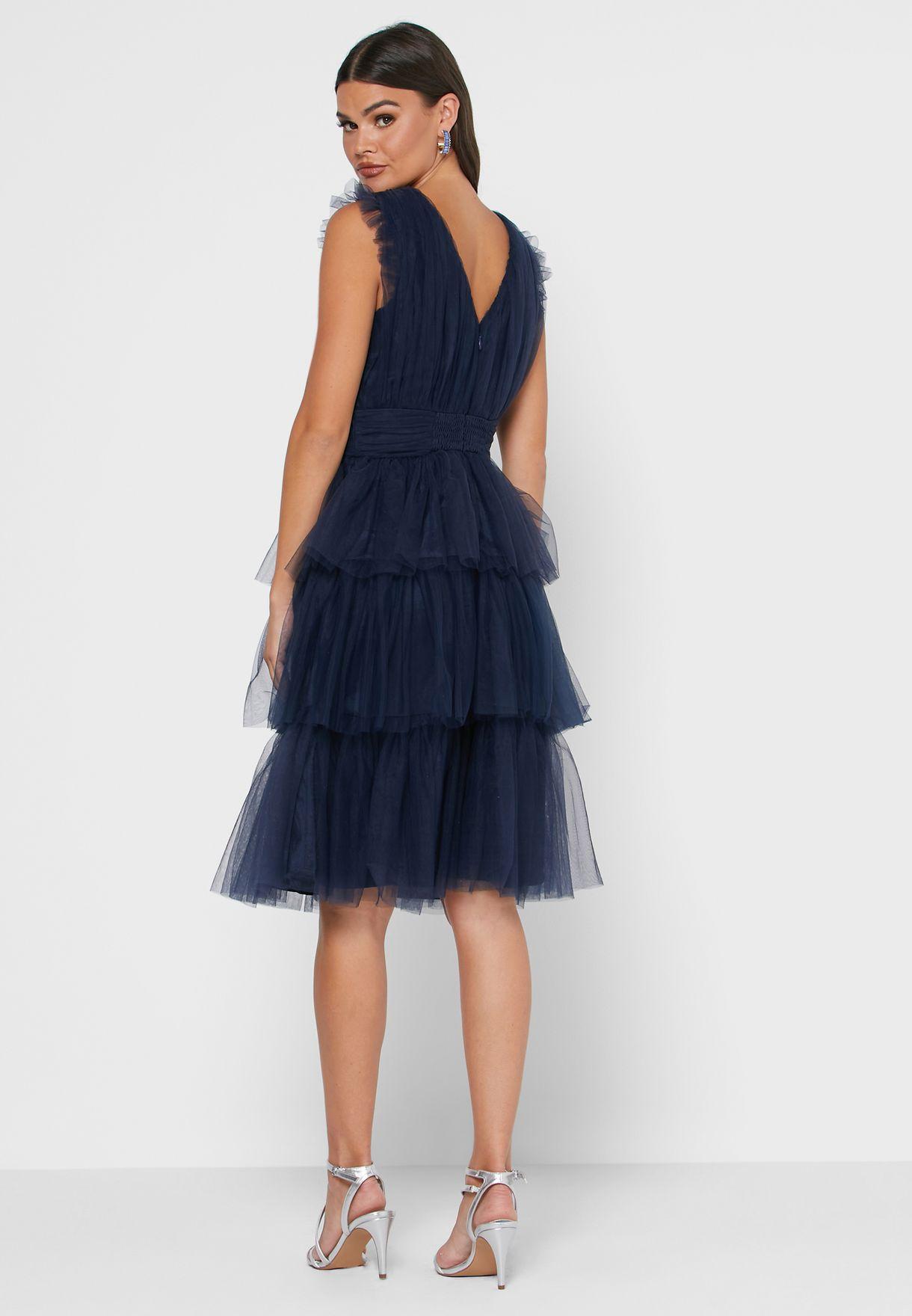 Zella Layered Shift Dress