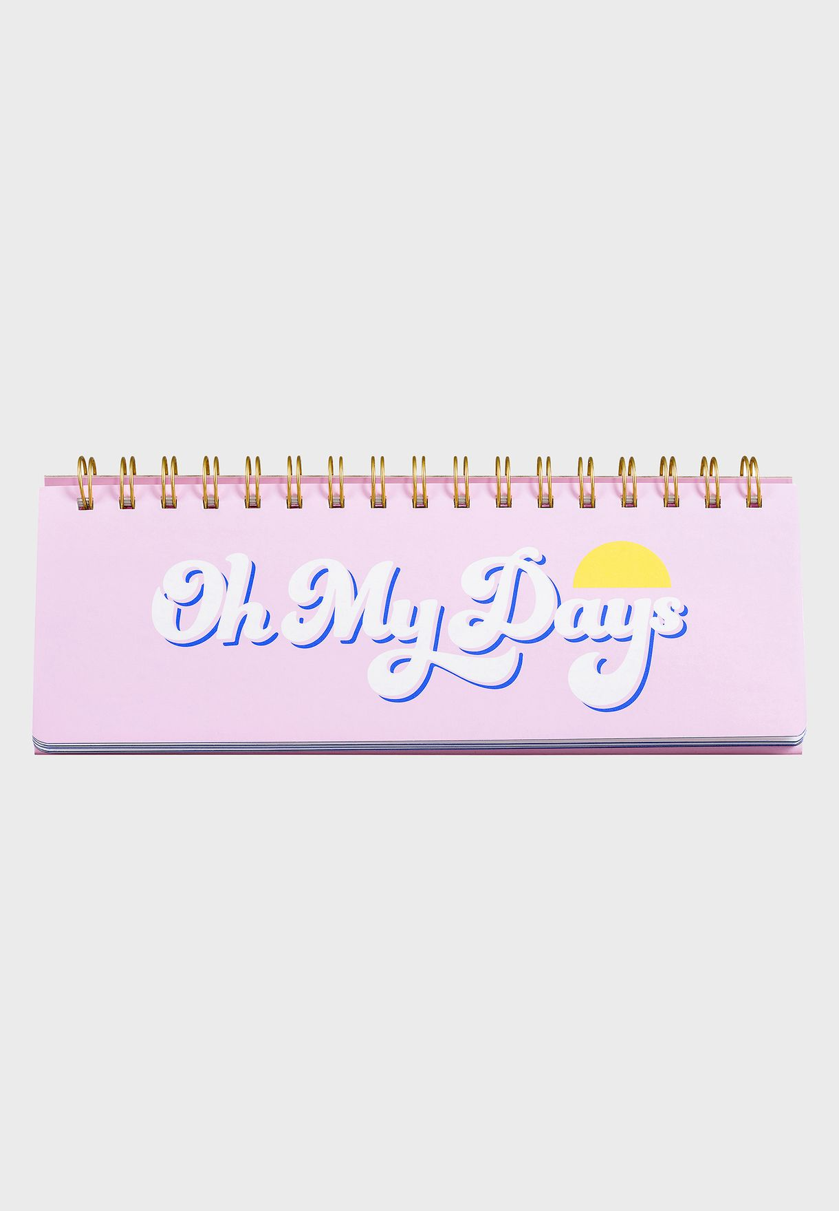 Oh My Days Weekly Desk Planner