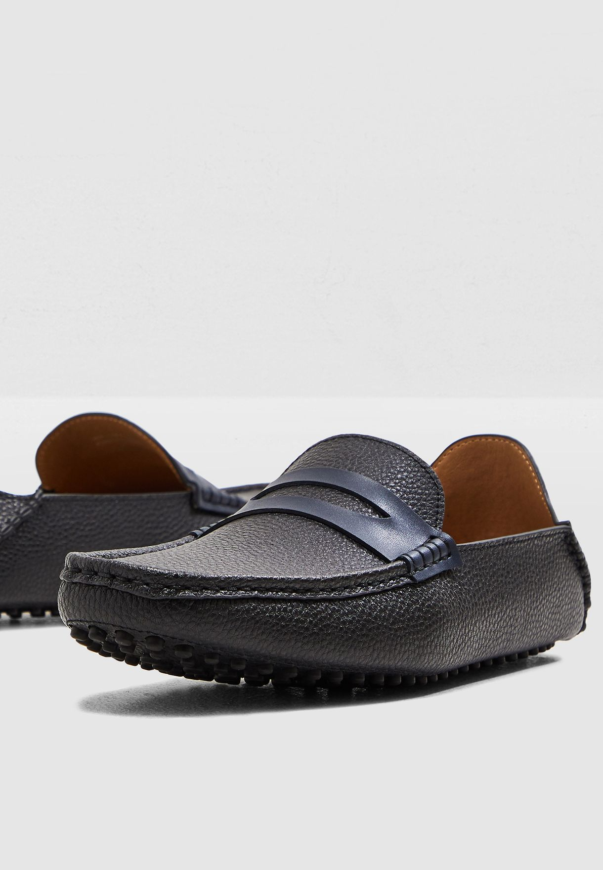 eb10ed2c310 Shop Steve Madden black Driver Loafers WF- MEXICO for Men in Kuwait ...