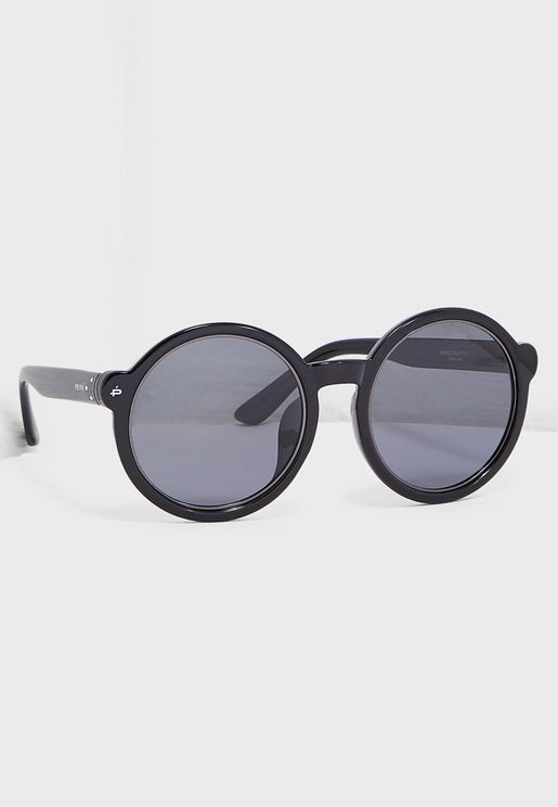 The Boss Polarized Round Sunglasses