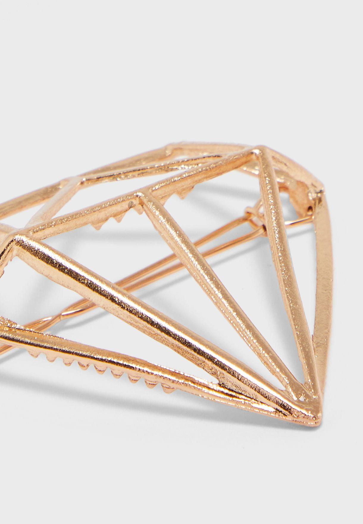 Diamond Shape Clip