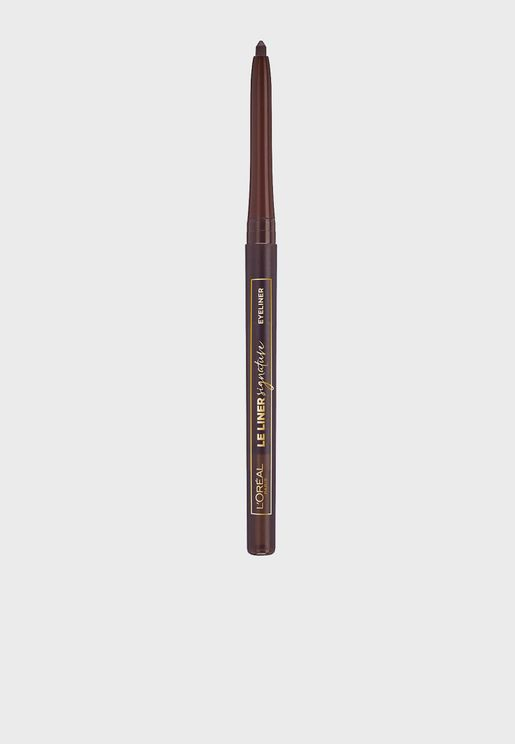 Le Liner Signature 05 Brown Silk