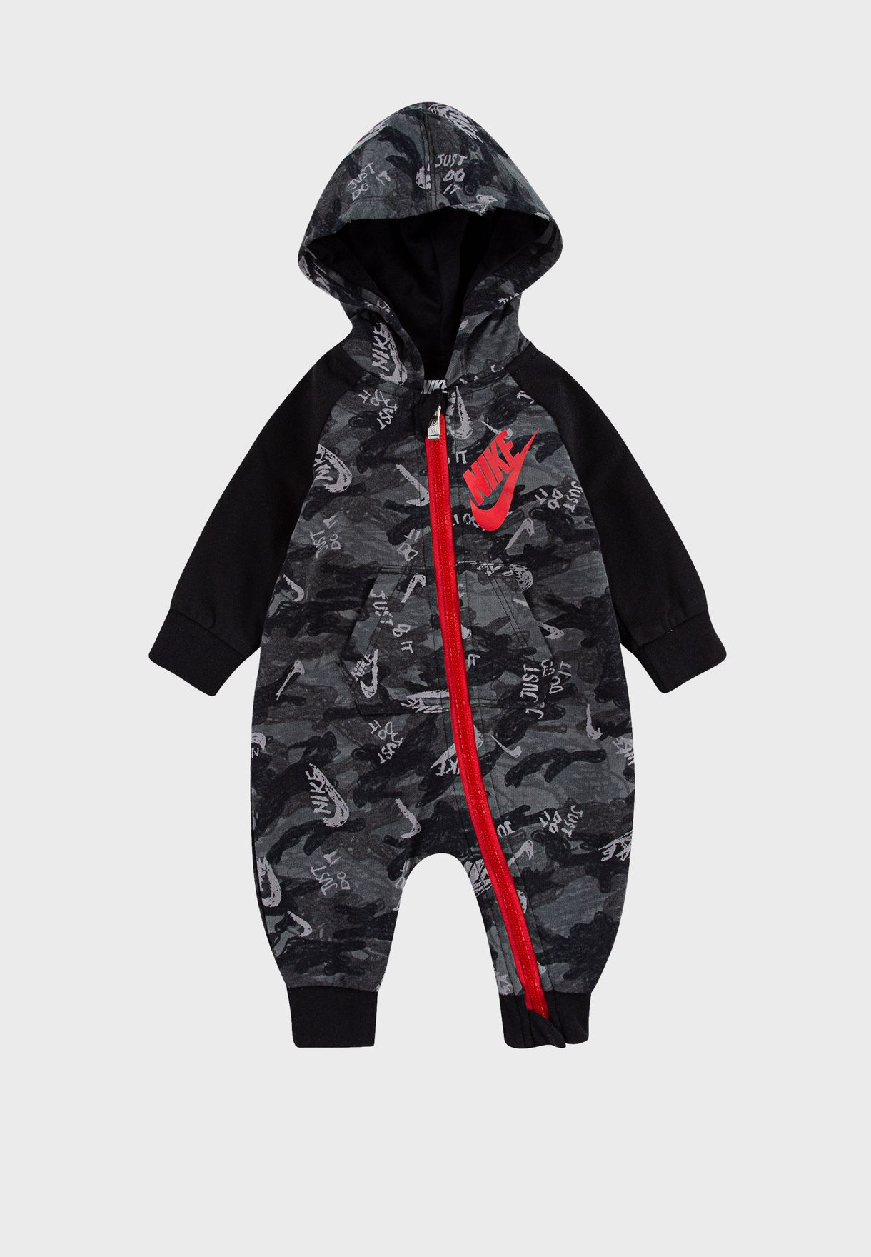 Infant Crayon Camo Romper