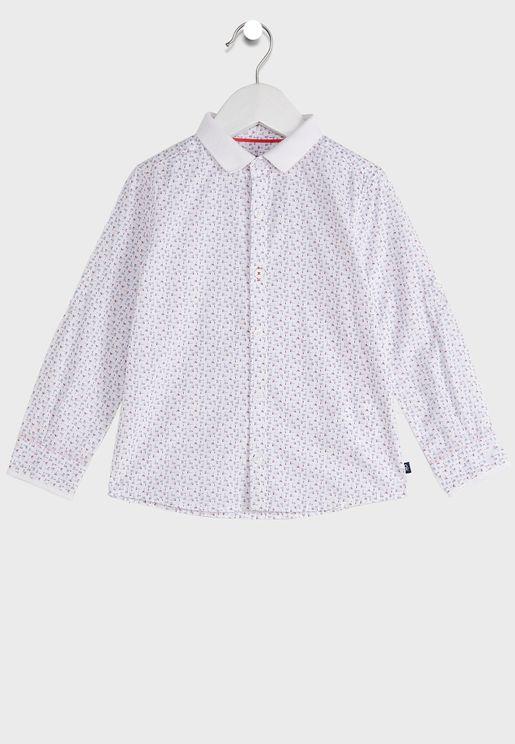 Kids Polo Collar Shirt