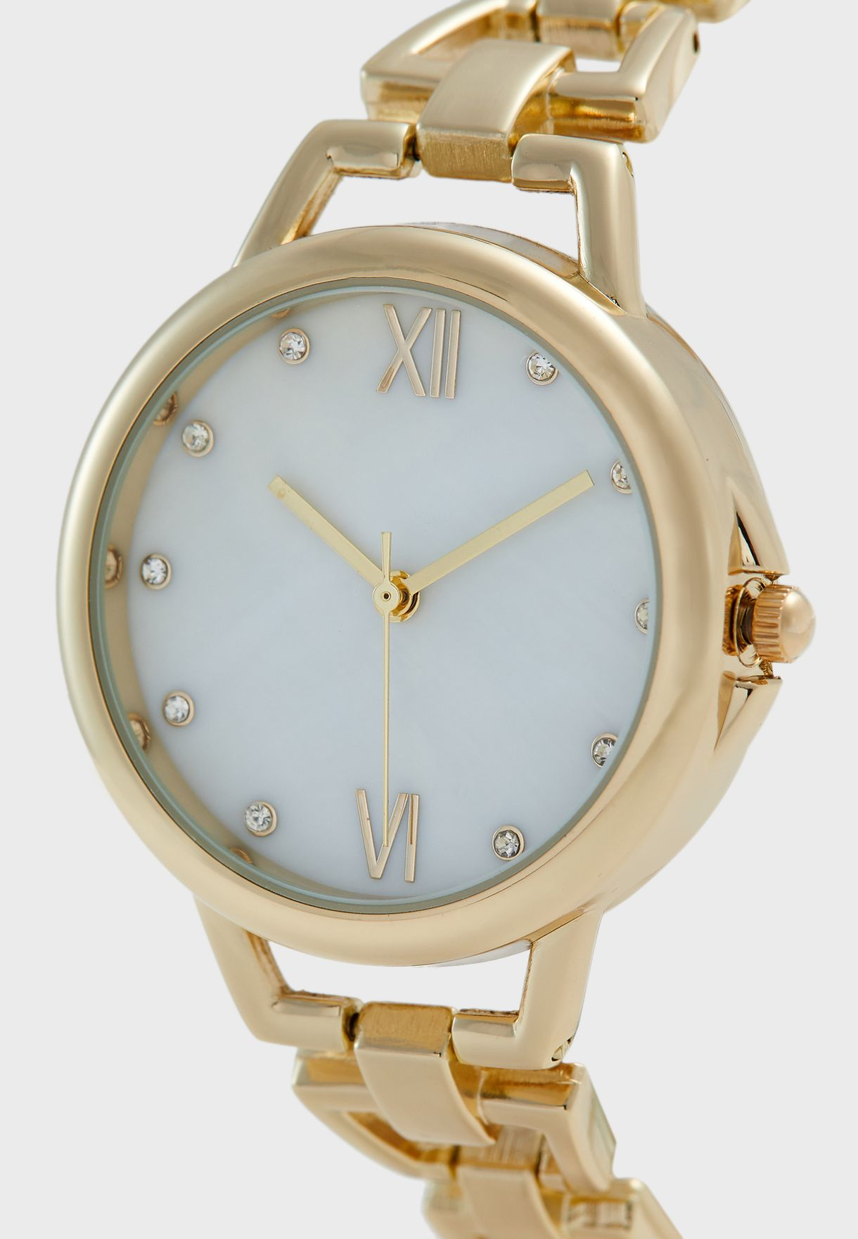 Graduated Open Links Watch with MOP Dial