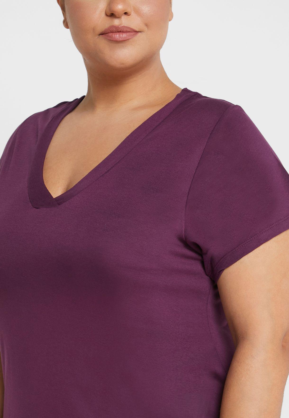 قميص نوم باكمام قصيرة