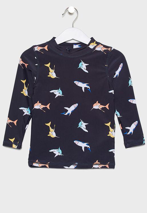 Kids Flynn  Swim T-Shirt