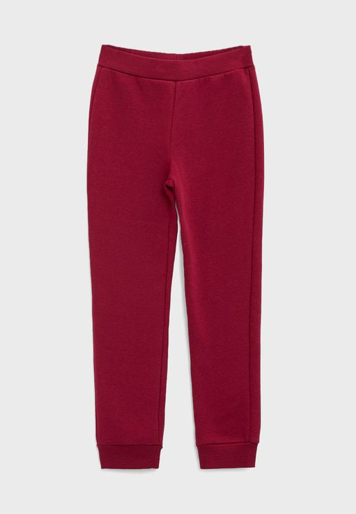 Kids Tie Waist Sweatpants