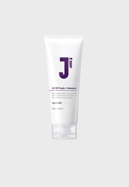 Purple J Water Pack 200ml For Damaged Hair Treatment