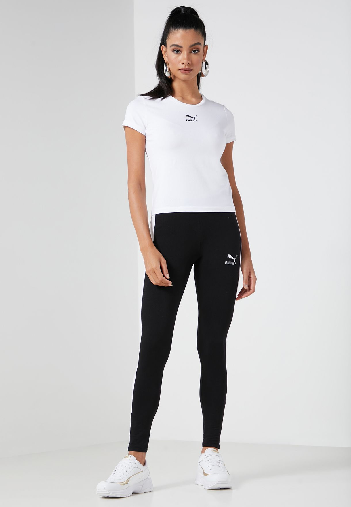 Iconic T7 Mid Rise Leggings