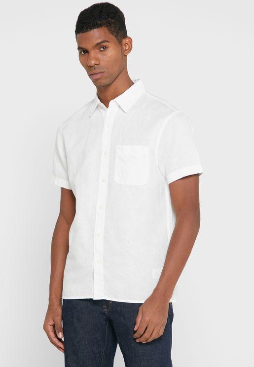 قميص كاجوال بازرار