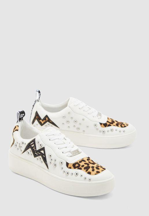 Brycin Leopard Print Low Top Sneaker