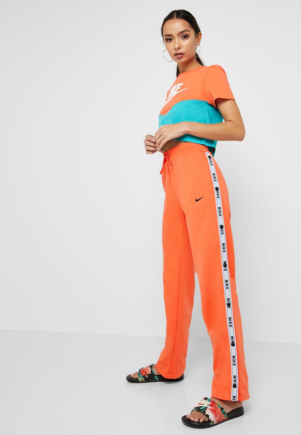 Nike Damen W NSW Logo Tape Popper ar9841 Unterhose