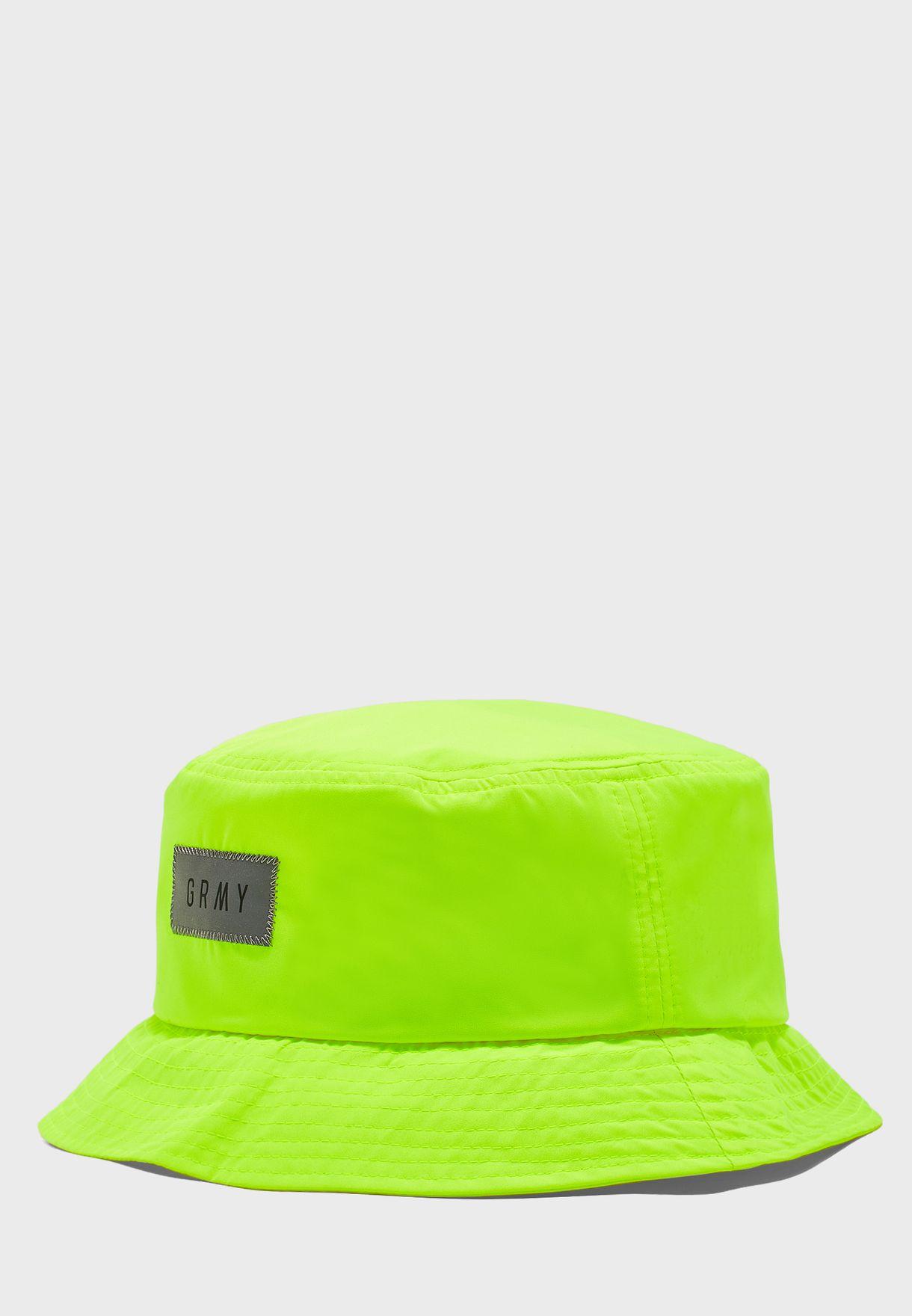 Buy Grimey Green Flying Saucer Bucket Hat For Men In Mena Worldwide Gbh251