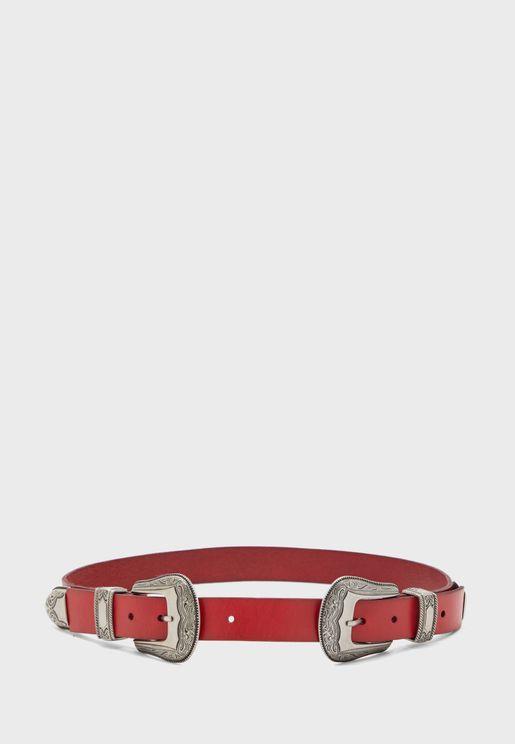 حزام عصري بابزيمين