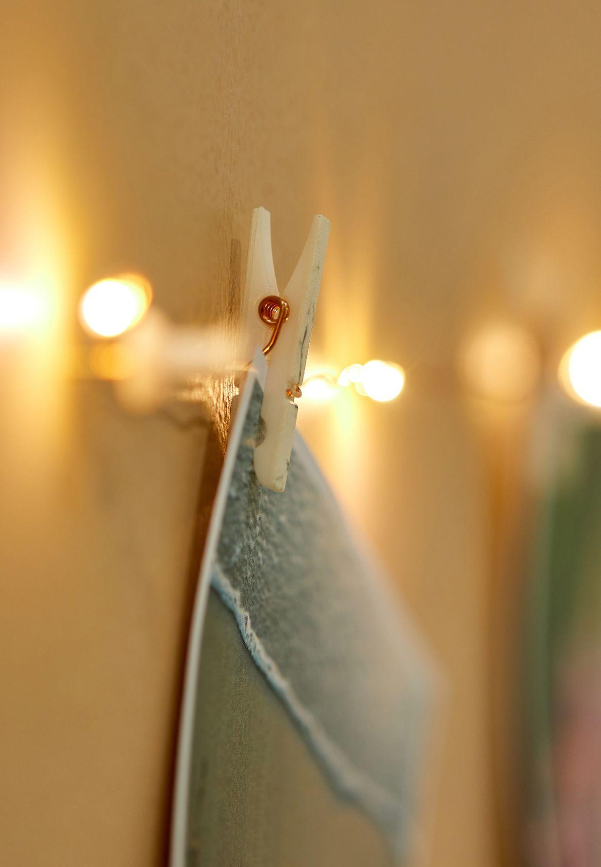 حبل بوحدات اضاءة