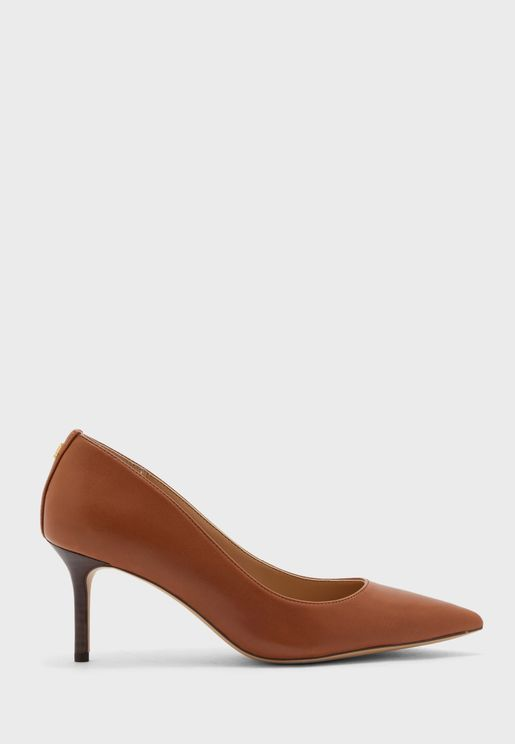 Pointed High Heel Pump